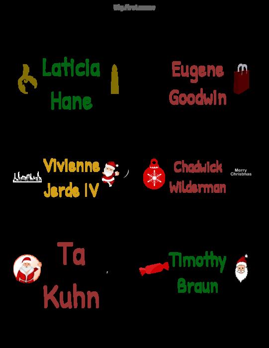 Christmas name badge template search results calendar 2015 for Christmas name badges