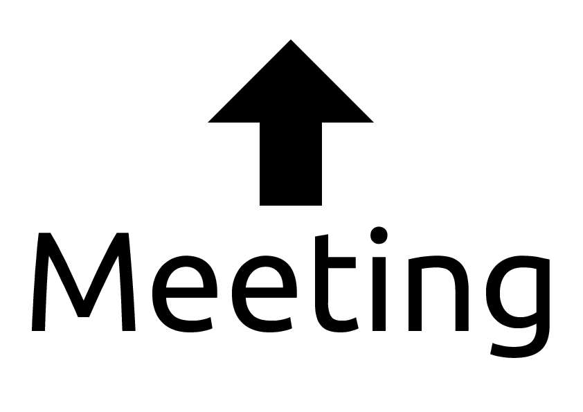 Free Meeting Signs